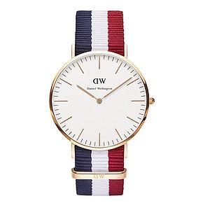 丹尼尔·惠灵顿 Classic系列 时尚男士尼龙表带手表 599元包邮