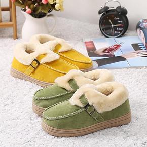 优势蓝 冬季可爱包跟棉拖鞋 9.9元包邮