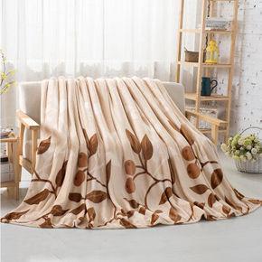 限华南# 好温馨 家纺毛毯子 落叶之秋 150*200cm  折合31.2元(39元,可2件8折)
