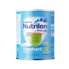 荷兰牛栏 Nutrilon 婴儿奶粉 2段 800g铁罐 59.3元包邮(53+6.3)