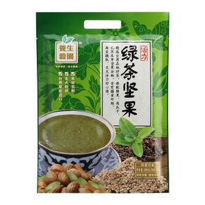 味全 养生谷园 活力绿茶坚果冲饮谷粉 300g 折7.4元(9.9,2件75折)