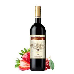 澳图 法国原瓶进口 A4赤霞珠干红葡萄酒 750ml 折19.5元(39,买2付1)