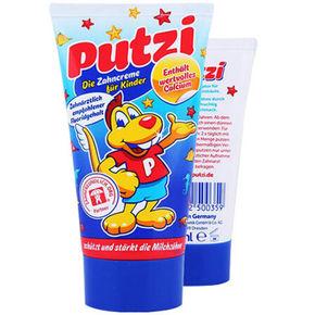德国 Putzi 普奇 儿童加钙护齿牙膏 50g 折9.8元(12.9,149-50)