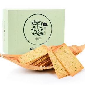 香楠 素食海苔薄脆饼干 416g*1盒 折6.9元(9.9,5件7折)