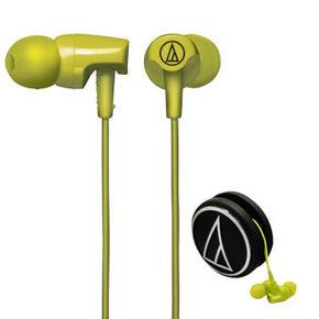 铁三角 ATH-CLR100 LG 入耳式耳机 绿色 99元