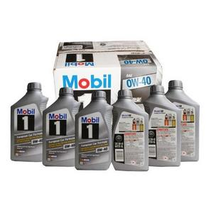 Mobil 美孚 0W-40 1号 合成机油 946ml*6支 318元包邮(348-30码)