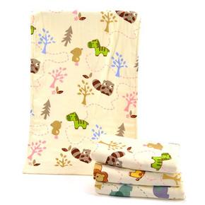 竹之锦 竹纤维双层卡通婴幼儿童毛巾 折9.5元(19,1件5折)