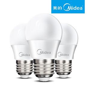 美的照明 LED节能灯家用球泡 券后2.5元包邮