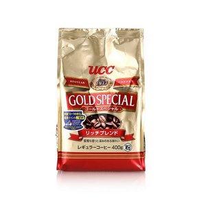 ucc 悠诗诗 金装特级混合咖啡粉 浓郁醇香型 400g*2袋 62元(104-50+8)