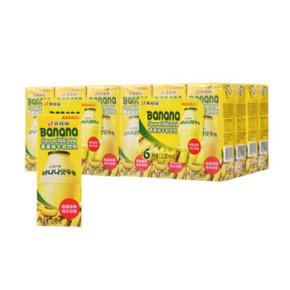 宾格瑞 香蕉味牛奶饮料 200ml*6盒 24.9元