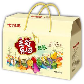 七河源 五谷乐团 杂粮礼盒 3490g 78元