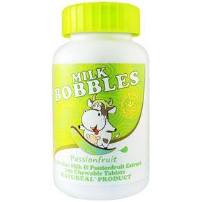 milk bobbles 高钙奶片 百香果口味 180粒 22元(19+3)
