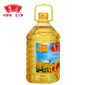 鲁花 压榨葵花籽油 5L 折70元(138.9,买2付1)