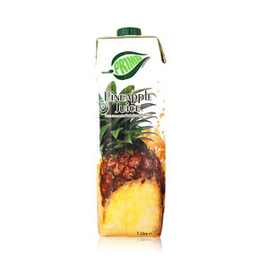 塞浦路斯进口 浦瑞曼100%菠萝汁 1L 8.9元