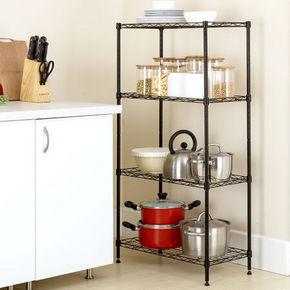 溢彩年华 多功能四层架 厨房收纳置物架 60元