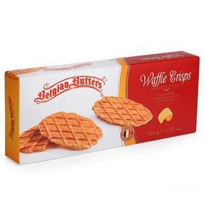 比利时进口 伯珍 黄油华夫饼干 100g 4.9元
