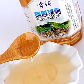贵儒 沂蒙山原生态雪脂莲纯蜂蜜 500g 券后29元包邮