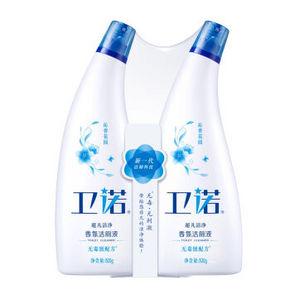 卫诺 香氛洁厕液 500g*2瓶 折9.9元(19.8,买2免1)