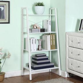 空间生活 厨房置物架书架花架 白色 89元