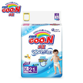 Goo.N 大王 维E环贴式纸尿裤 XL21片 折39元(2件5折)