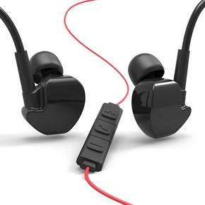 卡斐乐 立体入耳式线控耳机 29元包邮