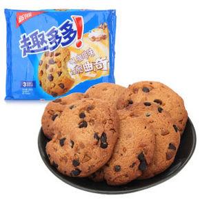 趣多多 咖啡味曲奇饼干 285g 折8.6元(3件8折)