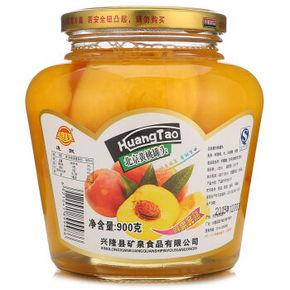 连联 北京黄桃罐头 900g*2件 20.8元(买1送1)