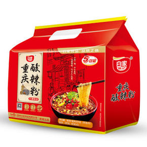 白家陈记 重庆酸辣粉 5连包 425g 9.9元
