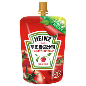 Heinz 亨氏 番茄沙司 120g*2袋 3.8元