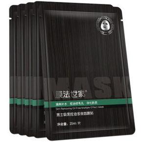 膜法世家 男士吸黑控油多效面膜贴 25ml*5片 9.9元
