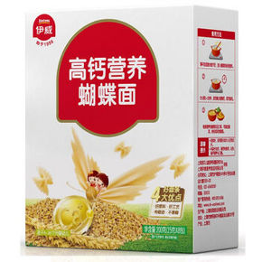 Eastwes 伊威 高钙营养蝴蝶面 200g 折13.9元(双重优惠)