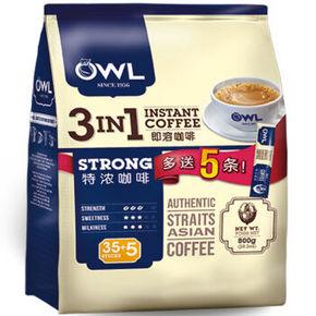 OWL 猫头鹰 3合1特浓咖啡800g  29.9元