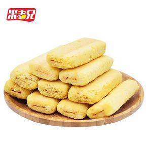 米老兄 台湾风味蛋黄米饼 500g 14.9元包邮(19.9-5券)