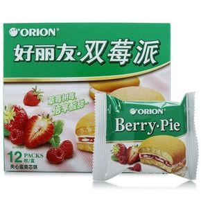 Orion 好丽友 双莓派12枚 276g 折9.9元(4件6折)
