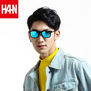 HAN 汉代 2016新款偏光太阳镜夹片 29元包邮