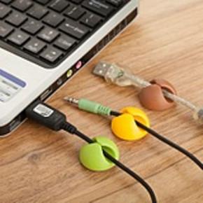 数据线固线器鼠标固定器 2.9元包邮