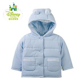 迪士尼 婴儿春秋冬加厚连帽外出服 49.9元包邮