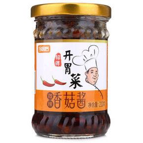 今明后 招牌开胃菜 微辣香菇酱 210g 6.9元