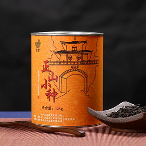 年糕 正山小种红茶125g  券后6元包邮
