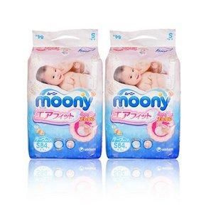 尤妮佳 婴儿纸尿裤 S84*2包 165元(148+17.6)
