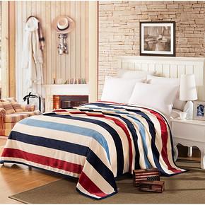 诺缦缇 珊瑚绒单人毛毯 70*100cm 5.8元包邮(15.8-10券)