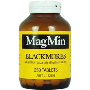 饮酒常备# BLACKMORES 澳佳宝 镁营养片 250 折83元(2件5折)