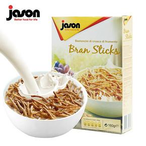 意大利进口 Jason 捷森 纤维全麦片全麦条 9.9元包邮