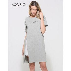 ASOBIO 夏季时尚简约女式连衣裙 69元包邮