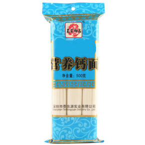 农家御品 营养钙面细面 500g*2袋 6.6元(买1送1)