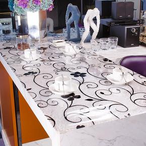 乐沃 田园软质玻璃PVC桌布 5元包邮