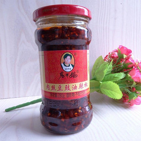华东/华北# 老干妈 肉丝豆豉油辣椒 280g 5.6元(10.6-5券)