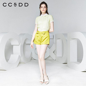 CCDD 秋阔腿A字裤修身短裤 35元包邮
