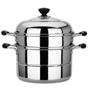 maxcook 美厨 不锈钢复底二层蒸锅 99元