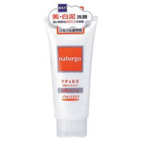资生堂 naturgo抗皱控油爽肤洗面奶 白泥 120g 折33.5元(3件6折)
